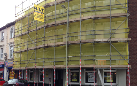 Commercial Refurbs Scaffolding